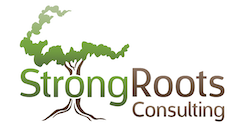StrongRoots Consulting tree logo